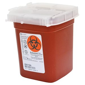 Disp.Biohazard Container 400ML
