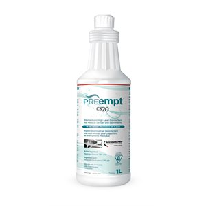 PREempt | CS20 STERILANT ET HIGH-LEVEL DISINFECTANT
